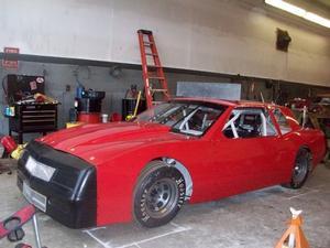 85 Stebbins Racing Frank Kimmel Street Stock Bfr Chassis Bob